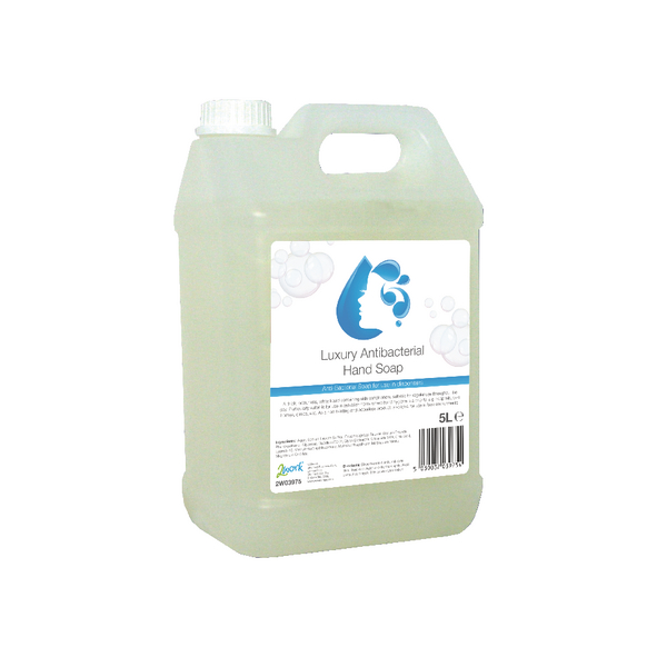 2Work Anti-bacterial Hand Wash 5 Litre 2W03975