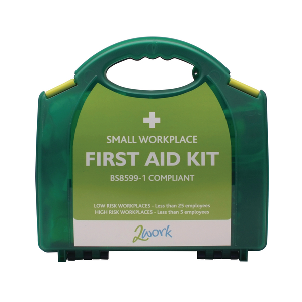 2Work Small BSI First Aid Kit X6050