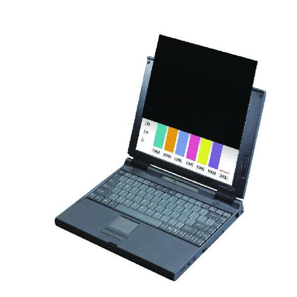 3M Black Privacy Filter For Desktops 19in Standard 5:4 PF19.0