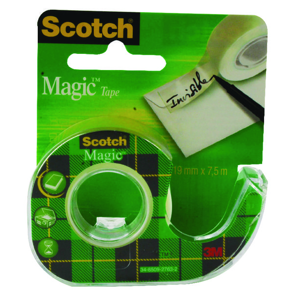 Scotch Magic Tape 19mm x7.5 Metres 81975D