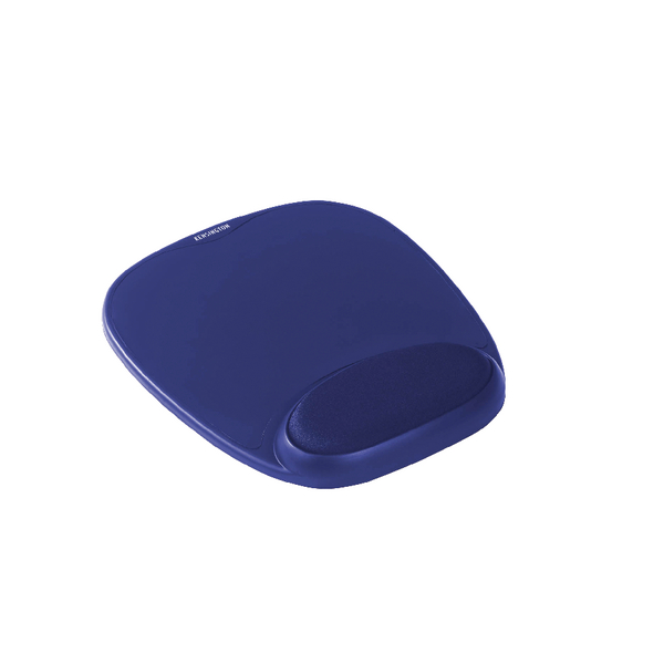 Kensington Blue Foam Mousepad With Wrist Rest 64271