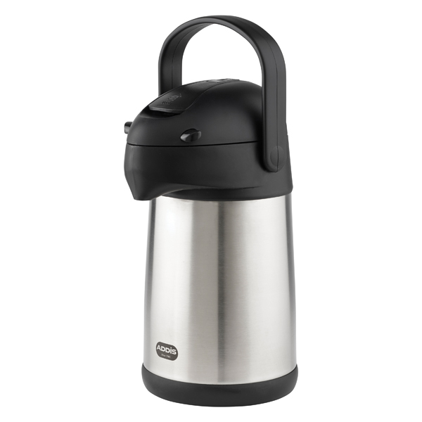 Addis Chrome President Pump Pot Vacuum Jug 2 Litre 637201600