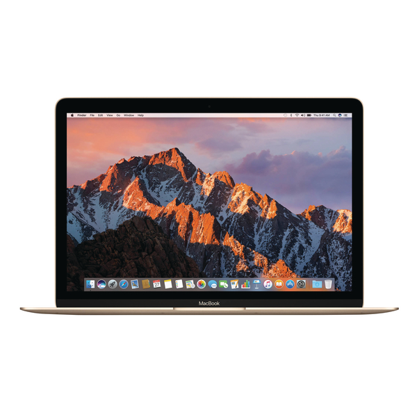 *Apple MacBook 12-inch 1.2GHz dual-core Intel Core m3 256GB - Gold MNYK2B/A