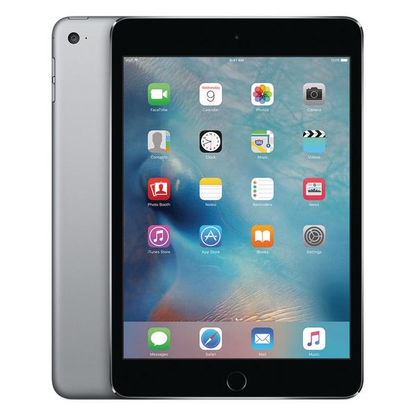 *Apple 7.9inch iPad Mini 4 Wi-Fi + 4G 128GB Space Grey MK8D2B/A