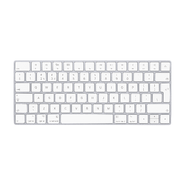 *Apple Magic Keyboard - British English White/Silver MLA22B/A