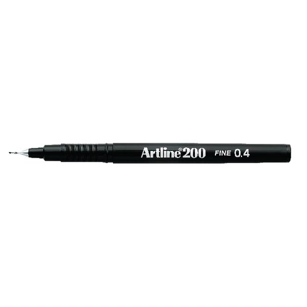 Artline 200 Fineliner Black A2001