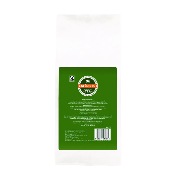 Cafedirect Fairtrade Everyday Tea Bags (Pack of 440) FTB0010