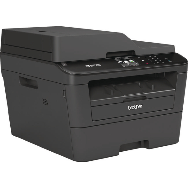 Brother MFC-L2720DW Compact Mono Laser All-in-One Printer With Fax Wireless Black MFCL2720DWZU1