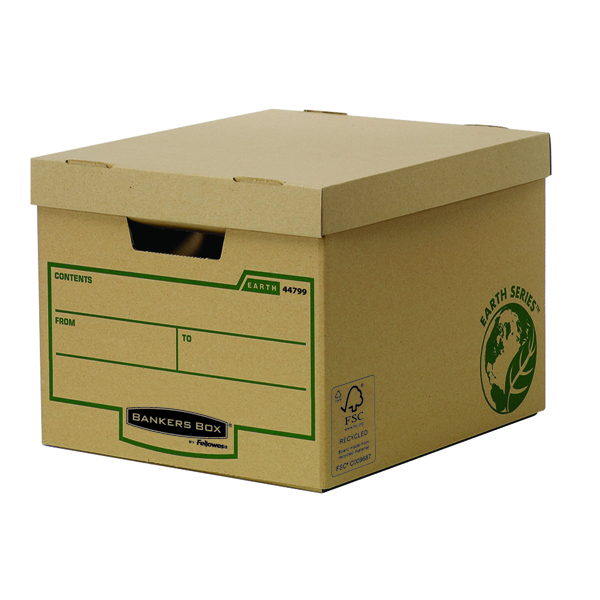 Fellowes Bankers Box Earth Series Heavy Duty Box (Pack of 10) 4479901