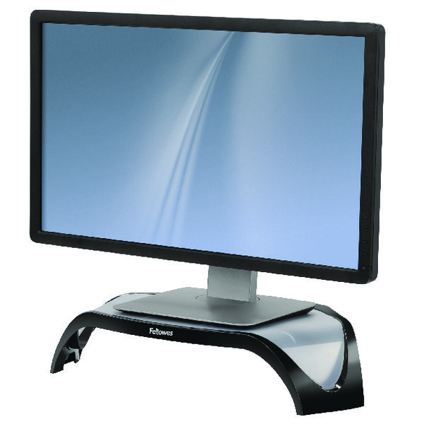 Fellowes Smart Suites Monitor Riser Black /Clear 8020101