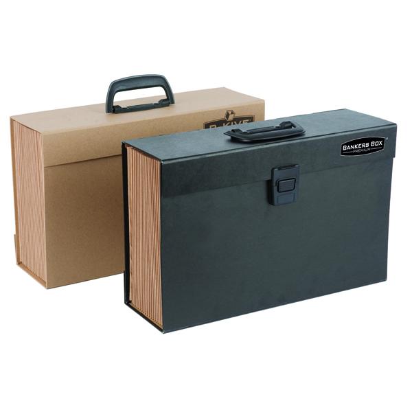 Fellowes Black Bankers Box Expanding Handifile 9351501