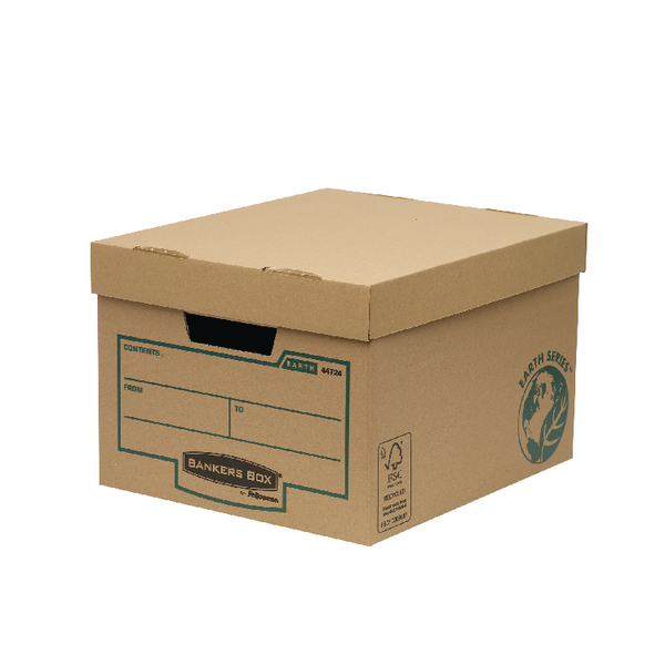 Bankers Box Earth Series Brown Storage Box (Pack of 10) 4472401