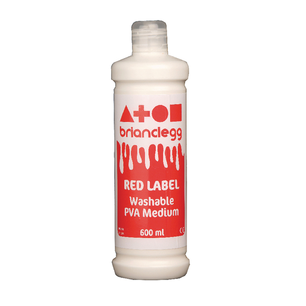 Brian Clegg PVA Glue Red Label 600ml