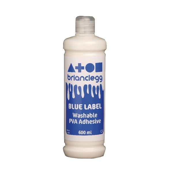 Brian Clegg PVA Glue Blue Label 600ml