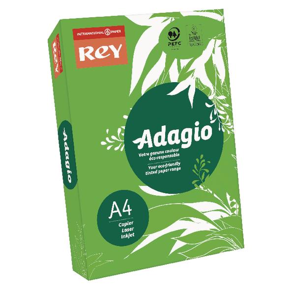 Adagio Intense Deep Green A4 Coloured Card (Pack of 250) 201.1221