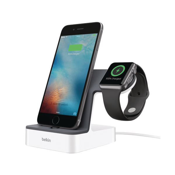 *Belkin PowerHouse Charge Dock for Apple Watch and iPhone F8J200VFWHT