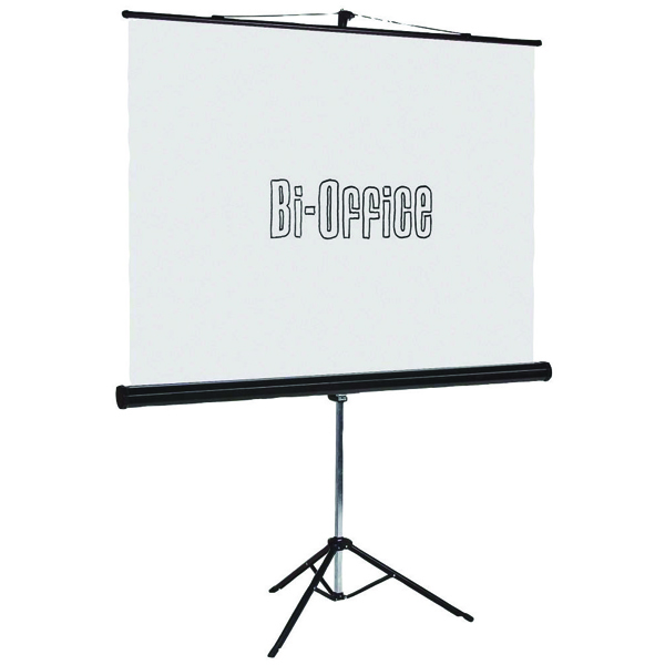 Bi-Office Tripod Projection Screen 1500x1500mm 9D006020