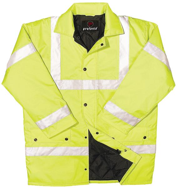 Proforce Class 3 EN471 Site Jacket XX Large Yellow HJ03YLXXL