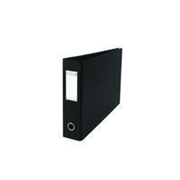 Elba A3 70mm Black Plastic Lever Arch File Pack of 2 400008440