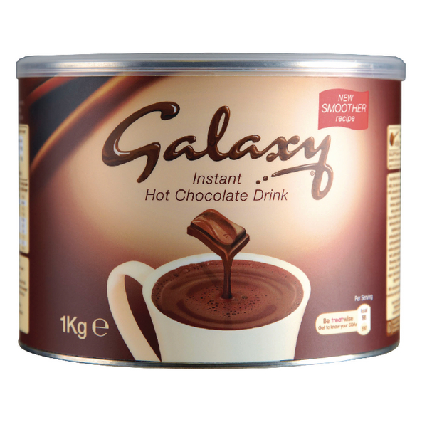 Catalogue - Vow Catalogue Galaxy Instant Hot Chocolate Tin 1kg A01950