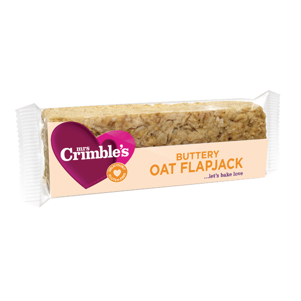 Mrs Crimbles Buttery Oat Flapjack 65g (Pack of 18) A08027