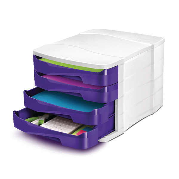 CEP Pro Gloss Purple 4 Drawer Set 394BIGPURPLE