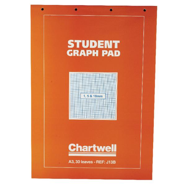 Chartwell A3 Graph Pad 30 Leaf J13B