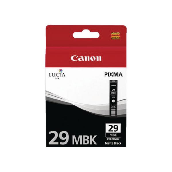 Canon Matte Black 29 Pixma PRO-1 Ink Tank PGI-29MBK 4868B001AA