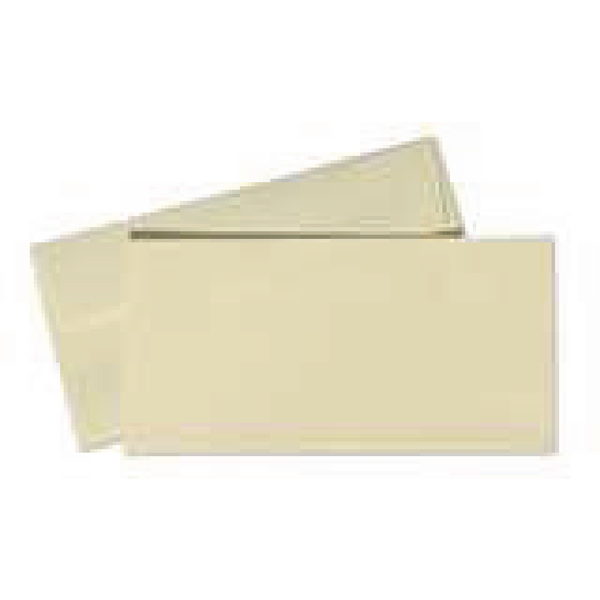 Conqueror Wove DL Wallet Envelope 110x220mm Cream (Pack of 500) CWE1327CR