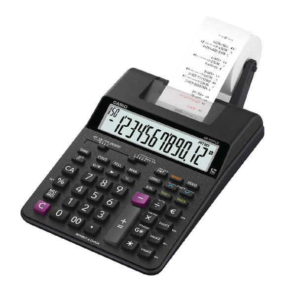 Casio HR-150RCE Printing Calculator Black HR150RCE-WE-EC