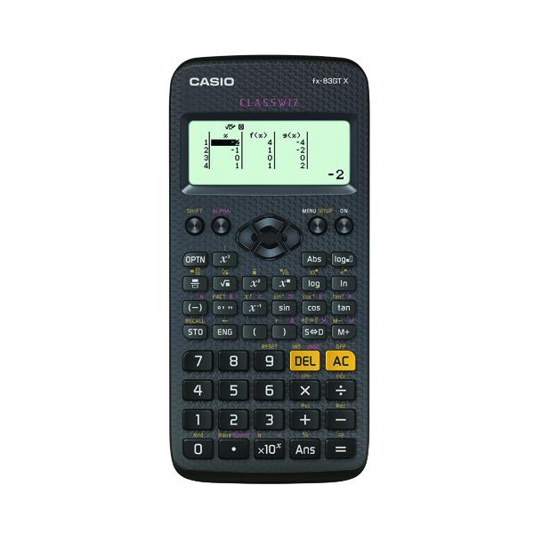 Casio Scientific Calculator FX83GTPLUS-SB-UH