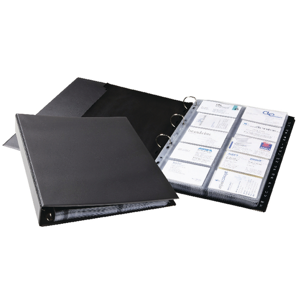 Durable Visifix A4 Eco Business Card Album 2444/01