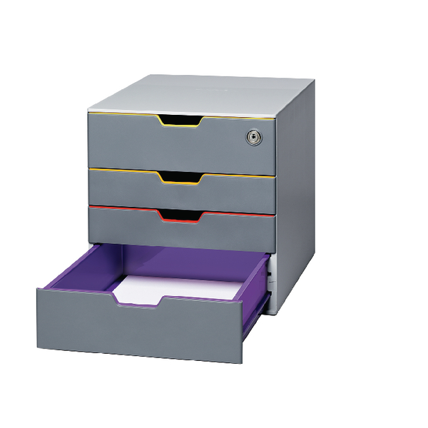 Durable Varicolor 4 Drawer Box 760627