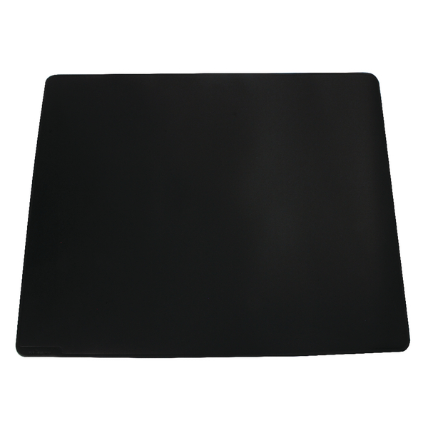 50x70cm Durable Black Desk Mat With Contoured Edges 520x650mm 7103/01