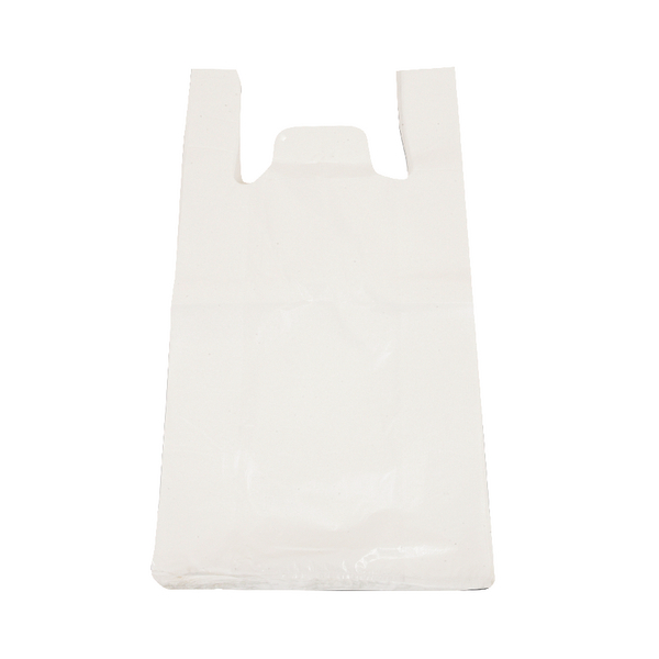 High Density Vest Carriers 275x425x525mm 15 Micron White (Pack of 2000) 403101