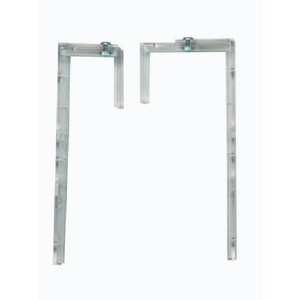 Deflecto Literature Wall File Brackets (Pack of 2) DEOPBKTYT