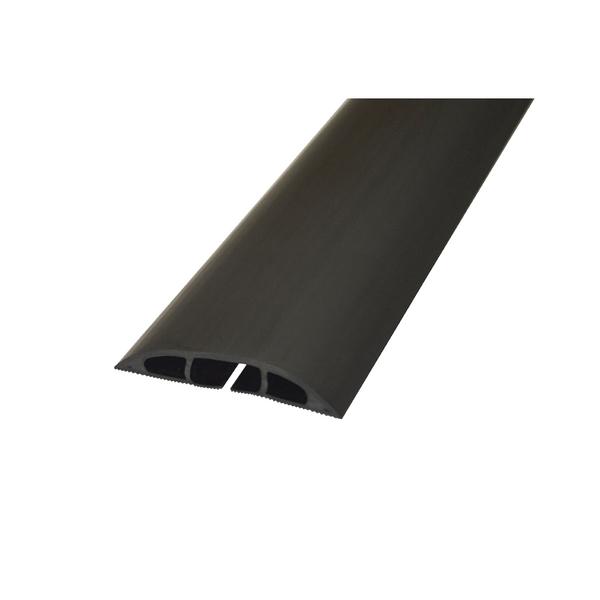 D-Line Black Light Duty Floor Cable Cover 60mmx1.8m Long CC-1