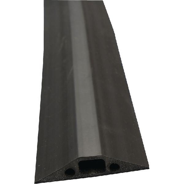 D-Line Black Medium Duty Floor Cable Cover 9m Long 68mm Wide FC68B/9M