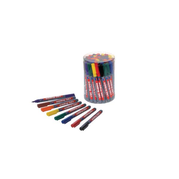 Edding 361 Drywipe Assorted Marker CP 43