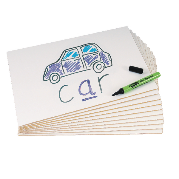 Show Me Boards MDF Plain (Pack of 10) PFB10