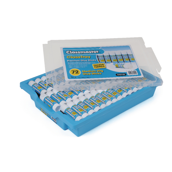 Classmaster Education Gluestick 20g in Gratnells Tray (Pack of 72) G2072G