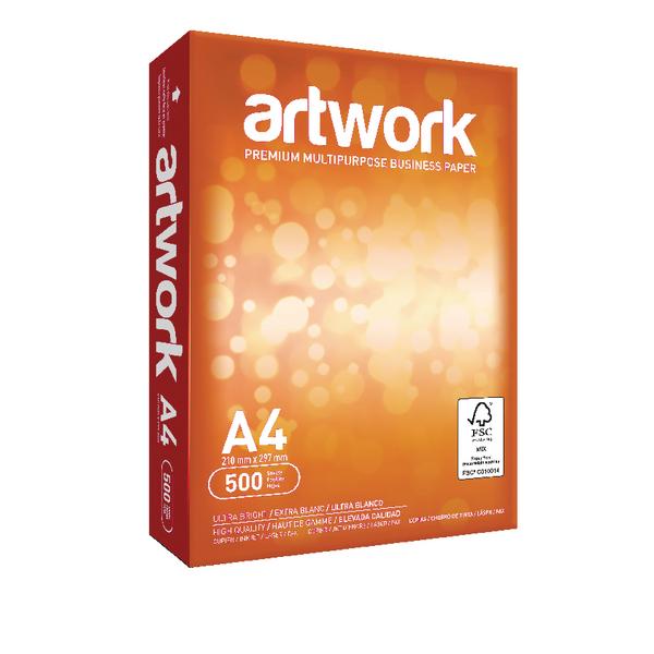 Artwork A4 White Paper 75gsm 5xReams