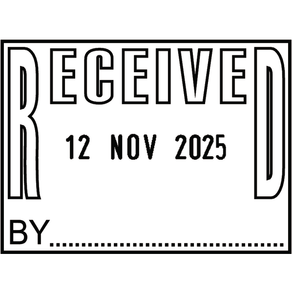 Colop P700 Date Stamp Received P700REC