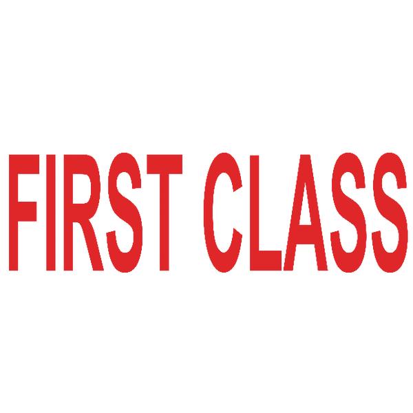 COLOP Green Line Word Stamp FIRST Class Red C144837FIR