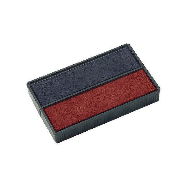 COLOP E/4850 Replacement Ink Pad Blue/Red (Pack of 2) E4850