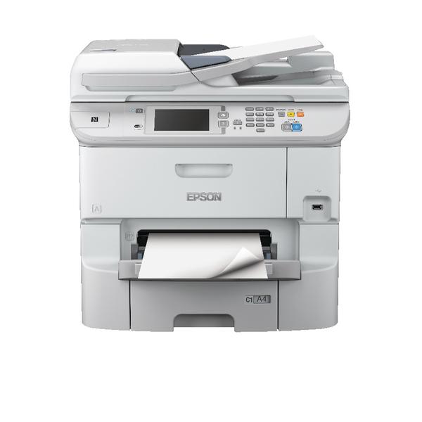 Epson WorkForce Pro WF-6590DWF A4 Multifunction Colour Inkjet Printer C11CD49301BY