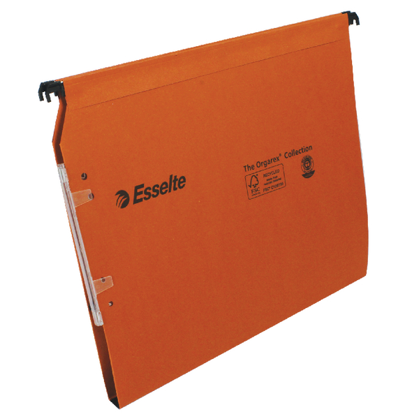 Esselte Orgarex 15mm Lateral File A4 (2 Packs of 25) ES810752
