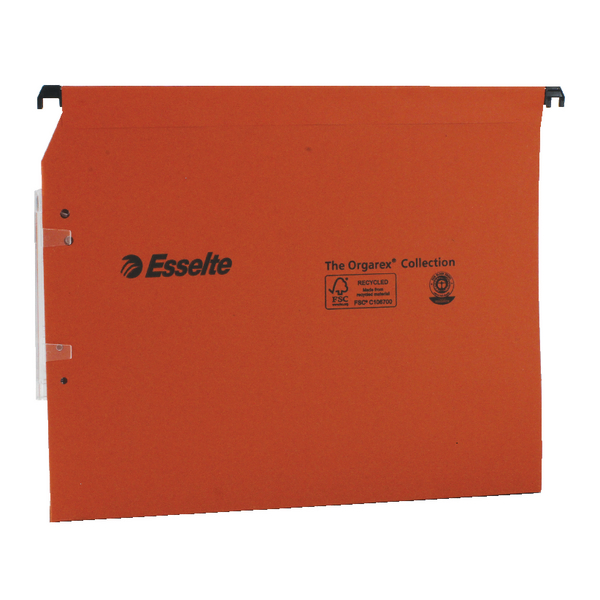 Esselte Orgarex 50mm Lateral File A4 (2 Packs of 25) ES810754