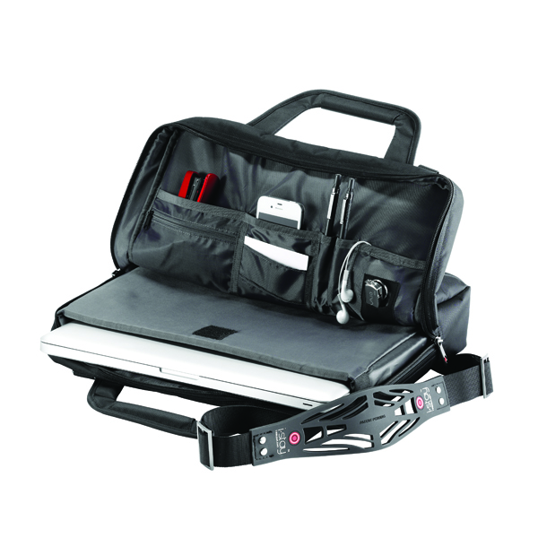 Falcon i-stay Black Laptop Organiser Bag