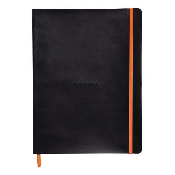 Rhodiarama Soft Notebook B5 Black 117502C